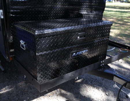 front rack box for teardrop camper