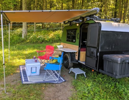 Kodiak teardrop camper