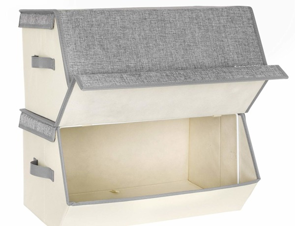 Clothing boxes for teardrop camper